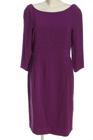 Alberta Ferretti Sukienka z długim rękawem fiolet W stylu casual
