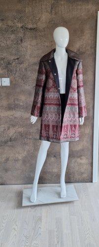 Alberta Ferretti Short Coat multicolored silk