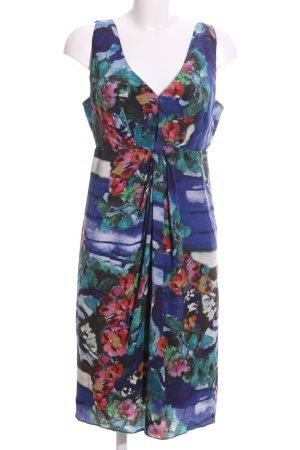 Alberta Ferretti Midi-jurk bloemenprint casual uitstraling