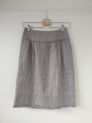 Alberta Ferretti Wool Skirt dusky pink-mauve