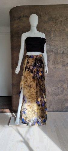 Alberta Ferretti Silk Skirt multicolored silk