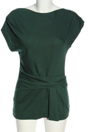 Alberta Ferretti Slip-over blouse groen casual uitstraling