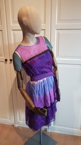 Alberta Ferretti Cocktail Dress multicolored silk