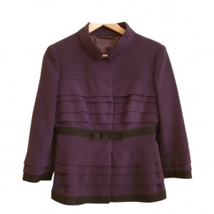 Alberta Ferretti Ladies' Suit brown violet