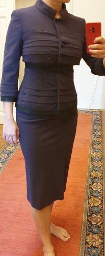 Alberta Ferretti Traje para mujer violeta amarronado