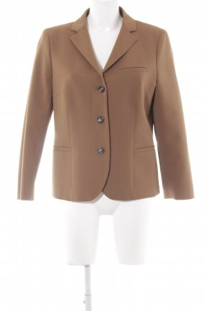 Alberto Biani Short Blazer cognac-coloured business style