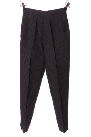 Alberto Biani Jersey Pants black check pattern casual look