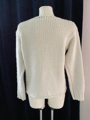 Alberto Cacciari Jersey de lana blanco puro