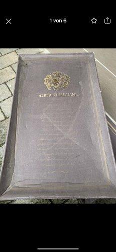 Alberto Fasciani Wide Calf Boots bronze-colored