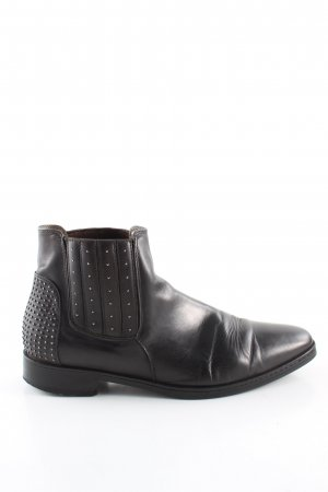 Alberto Fermani Ankle Boots schwarz Business-Look