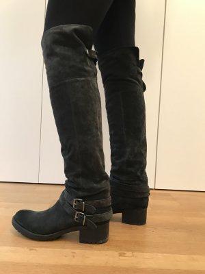 Alberto Fermani Overknees multicolored leather