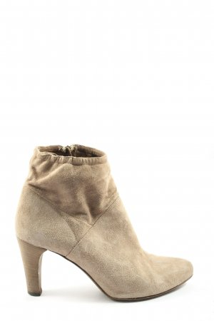 Alberto Fermani Zipper Booties natural white casual look