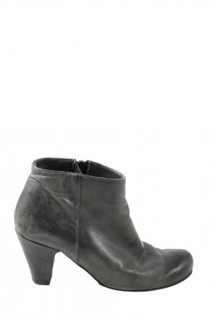 Alberto Fermani Zipper Booties black casual look