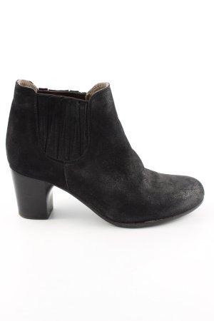 Alberto Fermani Slip-on laarzen zwart zakelijke stijl
