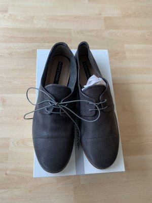 Alberto Fermani Zapatos brogue gris oscuro