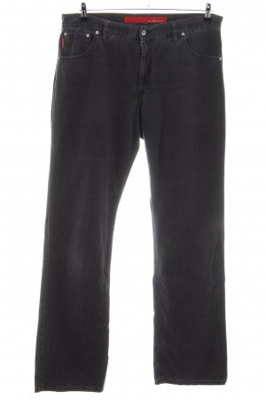 Alberto Pantalone cinque tasche nero stile casual