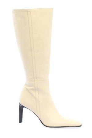 Alberto Gozzi Heel Boots cream casual look