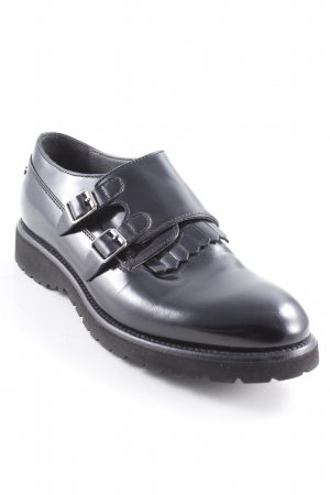 Alberto Guardiani Slip-on Shoes black street-fashion look