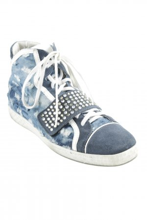 Alberto Guardiani Lace Shoes color gradient casual look