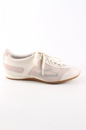 Alberto Guardiani Lace-Up Sneaker natural white-pink casual look