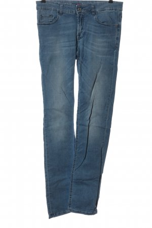 Alberto Hoge taille jeans blauw casual uitstraling