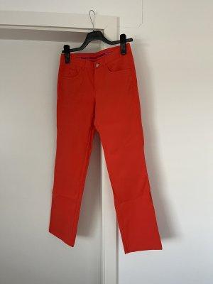 Alberto Pantalone da ginnastica arancione-arancio neon