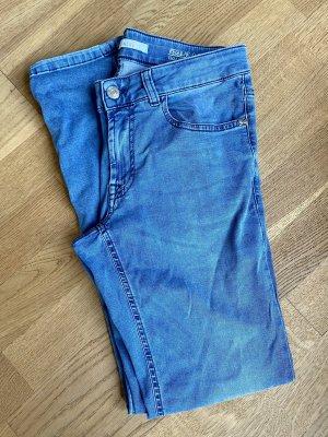 Alberto Slim Jeans multicolored cotton