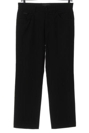 Alberto Spodnie materiałowe czarny W stylu casual