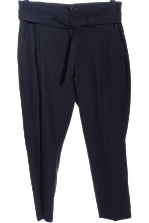 Alberto Stoffen broek blauw zakelijke stijl