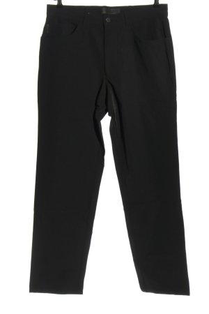 Alberto Stoffen broek zwart casual uitstraling