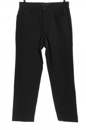 Alberto Pantalon en jersey noir style décontracté