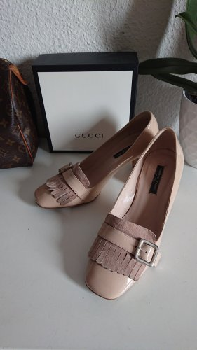 alberto zago Loafers rose-gold-coloured-dusky pink