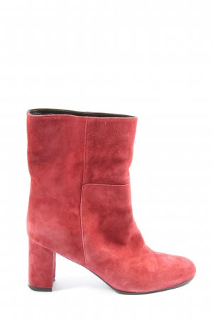 alberto zago Slip-on Booties red casual look