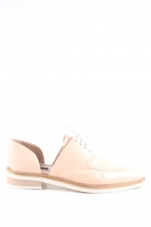 alberto zago Zapatos brogue rosa look casual