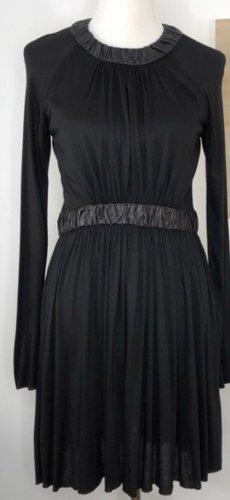 A.L.C. Robe à manches longues noir modal