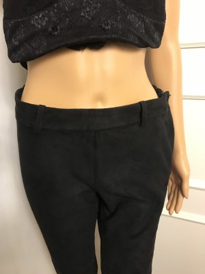 Hennes Collection by H&M Leather Trousers black