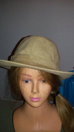 MAYSER Sombrero de ala ancha beige claro