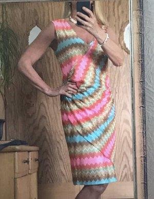 Ana Alcazar Robe mi-longue multicolore