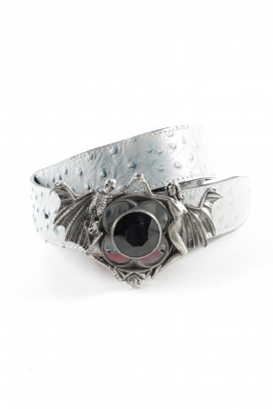 Waist Belt blue-silver-colored extravagant style
