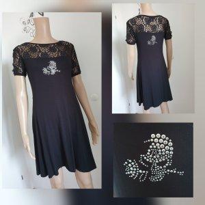 Alchemy Mini-jurk zwart Katoen