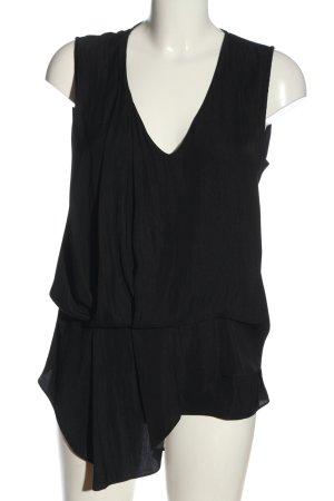 Alcott Mouwloze blouse zwart casual uitstraling