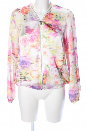 Alcott Bomber Jacket abstract pattern casual look