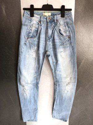 Alcott Jeans boyfriend bleu azur