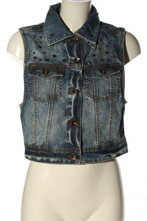 Alcott Gilet en jean bleu style décontracté