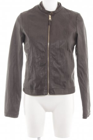 Alcott Faux Leather Jacket brown casual look