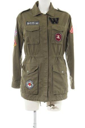 Alcott Ripstop Jacket khaki casual look