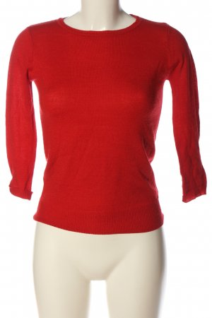 Alcott Knitted Sweater red casual look