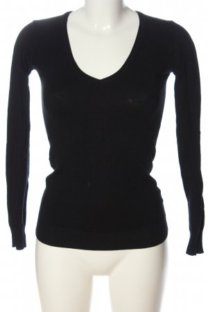 Alcott V-Neck Sweater black casual look
