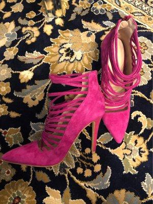 Aldo Zapatos de punta magenta