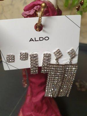 Aldo Bungeloorbellen zilver